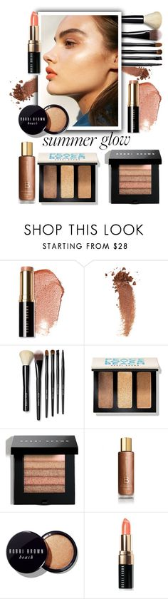 """Golden Goddess: Summer Glow"" by the-geek-goddess ❤ liked on Polyvore featuring beauty, Bobbi Brown Cosmetics and Gucci"