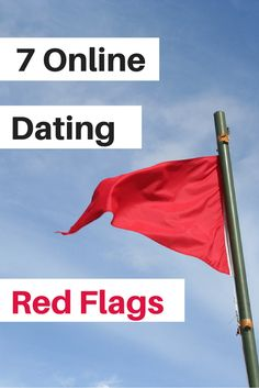 Red flags during internet dating