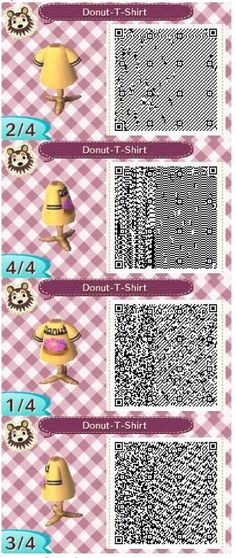 Donut T-Shirt by ACNL_Frogs