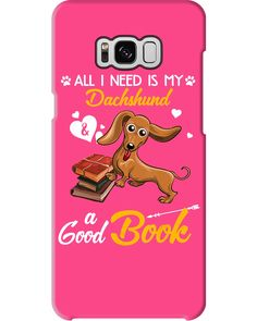 All I Need Is My Dachshund Dog A Good Book Mugs - Cyber Pink cute puppy quotes, dog bestfriend quotes, quotes dog love #dachshundlife #animalphotography #quotesoftheday, dried orange slices, yule decorations, scandinavian christmas Dachshund Tattoo, Dachshund Quotes, Dachshund Shirt, Funny Dachshund, Puppy Quotes, Dog Quotes Love, Dog Quotes Funny, Humor Quotes, Dapple Dachshund Puppy