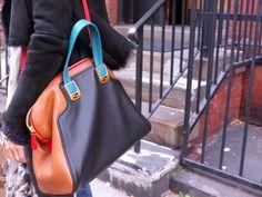 Fendi Chameleon colorblock bag