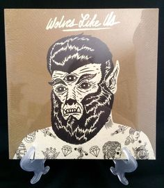 """Wolves Like Us 10"""" LTD Edition Vinyl Record (Get Gone / Too Official) NEW SEALED"""