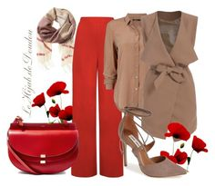 """""""Hijab Outfit"""" by le-hijab-de-doudou ❤ liked on Polyvore featuring Banana Republic, WearAll, Steve Madden and Chloé"""