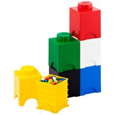 How cool! LEGO® Storage Brick; They come in a variety of sizes and are both storage and giant Lego bricks.