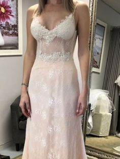 Soft Lace with peach undertone only available at Lubellos Bridal, 25 High street, Founders Hill, Modderfontein 82 8105496 Peach, Bride, Street, Wedding Dresses, Fashion, Wedding Bride, Bride Dresses, Moda, Bridal Gowns