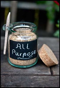 Clean Eating All Purpose Seasoning (Click Pic for Recipe) I completely swear by CLEAN eating!!  To INSANITY and back....  One Girls Journey to Fitness, Health, & Self Discovery.... http://mmorris.webs.com/