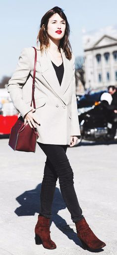 Stylish people tip #4: Re-wear favorite outfit combinations.