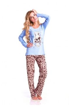 Dobranocka piżama 6031 spa blue PROMOCJA