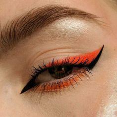 Dope Makeup, Fancy Makeup, Creative Eye Makeup, Edgy Makeup, Makeup Eye Looks, Eye Makeup Art, No Eyeliner Makeup, Crazy Makeup, Skin Makeup