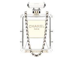 Chanel Cruise 2014 Parfum Bottle Clutch..... I WANTTTTTTTTTTTTT!!!!!