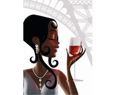 paris vin mode personnage 3d