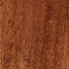 Home Legend Hand Scraped Mahogany Natural 3/8 In. T X 5 3/4 In. W X Varying  Length Click Lock Hardwood Flooring (22.68 Sq.ft/Case)