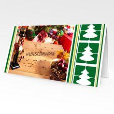 Format: 21 cm x 10,5 cm (geschlossen) 21 cm x 21 cm (offen) Material: 300g/m² Seidenmatt Die Weihnachtskarte mit Stil Jedes Jahr im Dezember fangen die Menschen an, sich Gedanken über das vergangen...