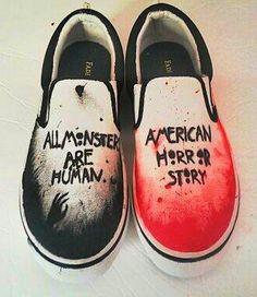 American Horror Story Vans!