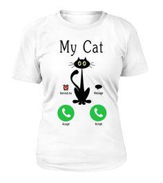 # My Cat is Calling .  Limited Editions - Worldwide ShippingLimitierte Auflagen - Weltweiter VersandMore Cat Products under:Mehr Katzen Produkte unter:https://www.teezily.com/stores/cat-dogEnjoy :)Tags:Cat is Calling, Cat Mobile, Cat Phone, Katze ruft an, Kitty, Kitten, Black Cat, Cats, Pet, Pets, Cat, Haustier, Funny Cat, Funny Cats, Haustiere, Mobile Phone, Schwarze Katze, Cute, Cuteness, Süss, Lustig, Lustige Katze, Cat Quote, Cat Saying, Katze Zitat, Katze Spruch, Sprüche, Humor, LOL…