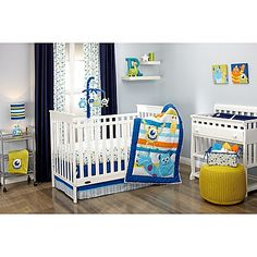 Disney Baby Monsters at Play Crib Bedding Collection
