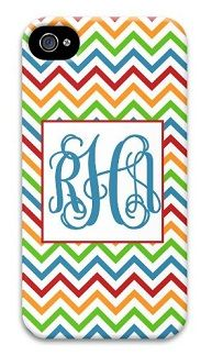 Great for Spring. Rainbow Chevron phone cover.