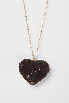Heart Pendant Necklace.