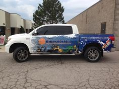 Fantastic truck wrap completed by Speedpro Imaging London! This is eye-catching!