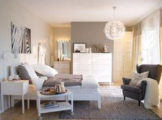 Suite parentale meubles blancs