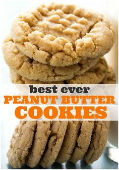 BEST EVER SOFT PEANUT BUTTER COOKIESare a classic soft & chewy peanut butter cookies have quickly become our favorite sweet treat. #cookies #peanutbutter #peanutbuttercookies