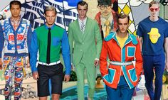 Top men's seasonal trends, S/S 2014, POP ART