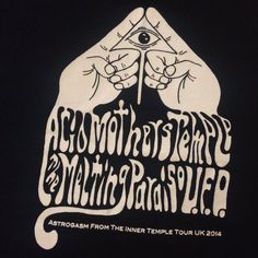 Psychedelic even in monochrome, Acid Mothers Temple band tee   #TShirtDay  via @KirstySNewman