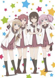 Third season for yuri comedy anime, Yuru Yuri, green-lit - http://sgcafe.com/2015/03/third-season-yuri-comedy-anime-yuru-yuri-green-lit/