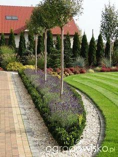 Courtyard: 50 examples of successful design Decor ideas - All For Garden Gravel Garden, Garden Paths, Lawn And Garden, Landscaping With Rocks, Front Yard Landscaping, Backyard Landscaping, Backyard Garden Design, Small Garden Design, Courtyard Design