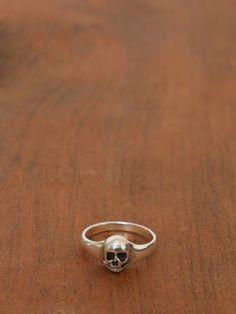 Sterling Silver Skull Ring - Small - Gypsy Warrior
