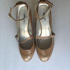 Super Cute Tan Color Low Heels!