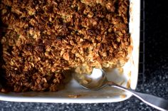 As excited as I am to be — slowly, tentatively — back in the kitchen, I seem to be stuck at the beginning, or at least the beginning of the day. I'm fixated on granola and eggy th…