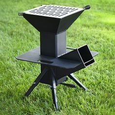 Grillen Watchman Outdoor-Kocher, A Child Carrier For Bikes Puts Safety Up Outdoor Cooking Stove, Outdoor Stove, Cooking Grill, Cooking Games, Cooking Turkey, Metal Projects, Welding Projects, Art Projects, Outdoor Kocher