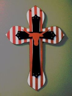 Texas Longhorn Cross. Need this for my Step-Mom.
