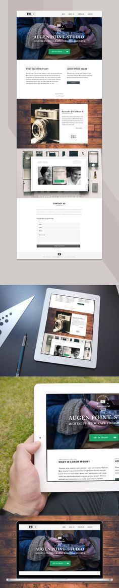 Design practice by Vasil Hristov, via Behance