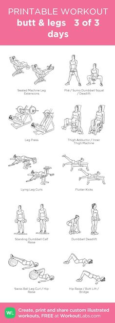 Booty and Leg workout | Posted By: NewHowtoLoseBellyFat.com