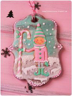 N.M. Galletas Artesanas: Navidad en rosa y menta, 2ª parte