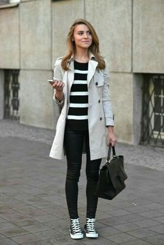 Fashion Hacks That Will Show You How To Wear Converse - Outfits With Converse - Just The Design Converse Outfits, Black Converse, Converse High, Converse Style, White Chucks, Converse Sneakers, Casual Mode, Casual Chic, Fall Outfits