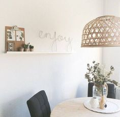 Lampe Suspension Bambou 'ZAP' - naturel - - Broste Copenhagen - Petite… Plus Broste Copenhagen, Apartment Projects, Love Home, Dining Area, Pendant Lighting, Sweet Home, New Homes, Bedroom, Architecture