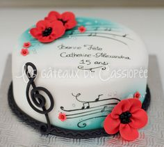 Birthday+Cake+Photos+-+ isn't it gorgeous? (From buttercream fantasie on cake central) always amazed by her cakes!!!