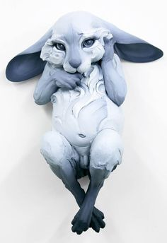 Follow The Black Rabbit – Les superbes sculptures d'animaux de Beth Cavener