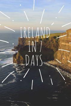 Ireland Travel Itinerary | Ireland in 7 Days - FashionEdible