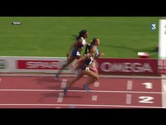 Finish INCROYABLE - France relais 4x400m Femme Championnat d'Europe 2014...