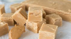 Peanut Butter Fudge This sweet and salty version of no-bake fudge is so tasty, you may find yourself making it all year-round.This sweet and salty version of no-bake fudge is so tasty, you may find yourself making it all year-round. Delicious Fudge Recipe, Fudge Recipes, Candy Recipes, Delicious Desserts, Cookie Recipes, Bark Recipe, Yummy Recipes, Yummy Food, Köstliche Desserts