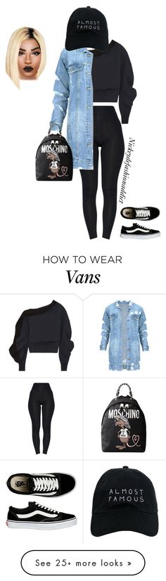 """Untitled #1815"" by stylesbynickey on Polyvore featuring Burberry, Vans, Nasaseasons and Moschino"