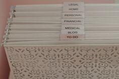 Como organizar o escritório