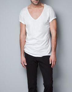 DELUXE T-SHIRT - T-shirts - Basics - Man - ZARA