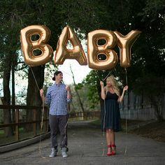 40 Gold Foil Letter & Number Balloons by BalloonandPaper on Etsy