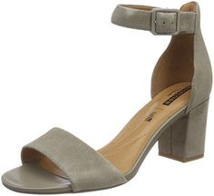 Clarks Women's Deva Mae Strappy Sandals, Green (Sage), EU - Shoes Ladies shoes store summer shoes summer outfit women shoes summer shoes spring new buy shoes combine fancy flat heel gift idea women gift holiday shoes everyday shoe store fashion women Clarks, Spring Shoes, Summer Shoes, Summer Outfit, Holiday Shoes, Minimalist Shoes, Everyday Shoes, Fashion Sandals, Leather Booties