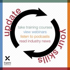 Career Tip: Do something to update your skills every month. It could be a training course, webinar, podcast, or reading the latest industry news. Stay current to stay relevant.